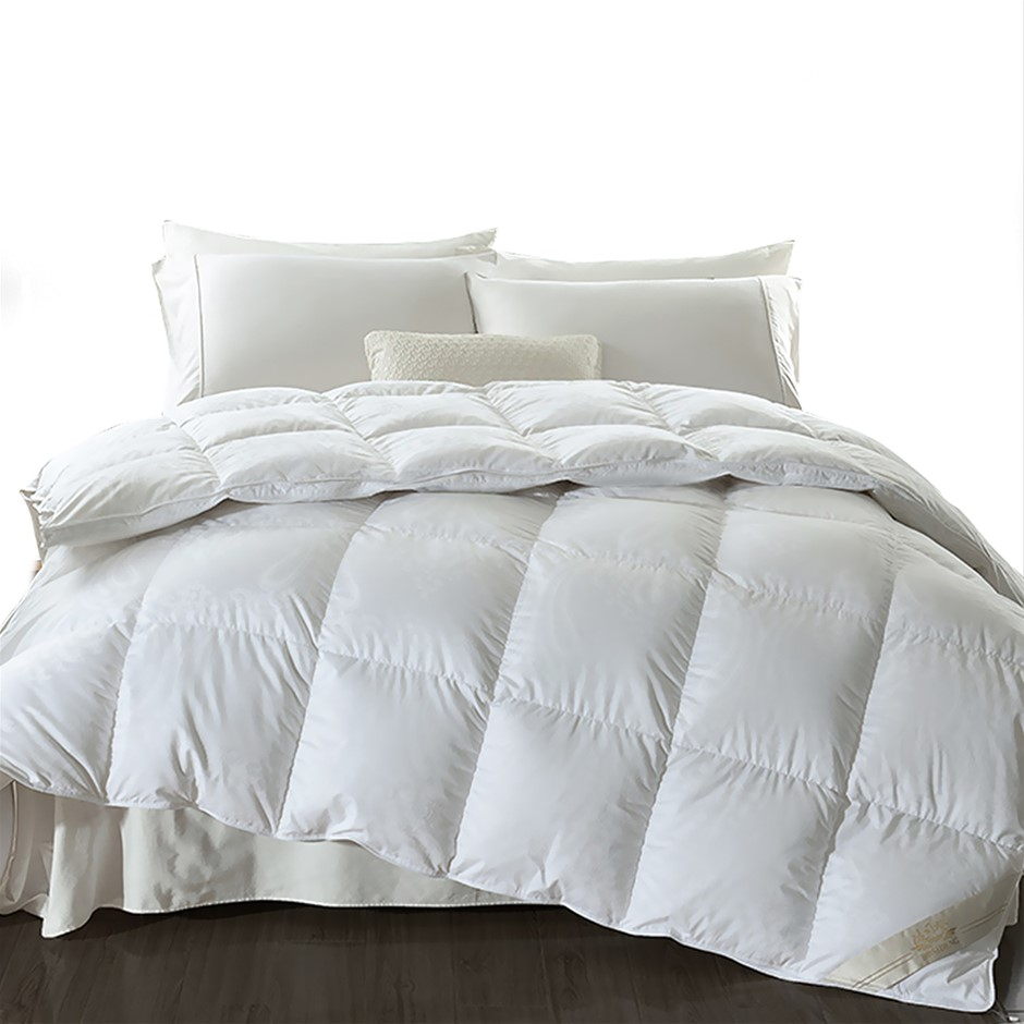 DreamZ 500GSM All Season Goose Down Feather Filling Duvet in Super King