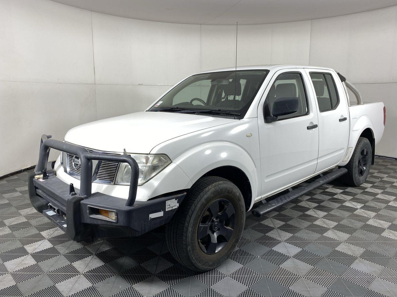 2010 Nissan Navara RX (4x4) D40 Turbo Diesel Automatic Dual Cab