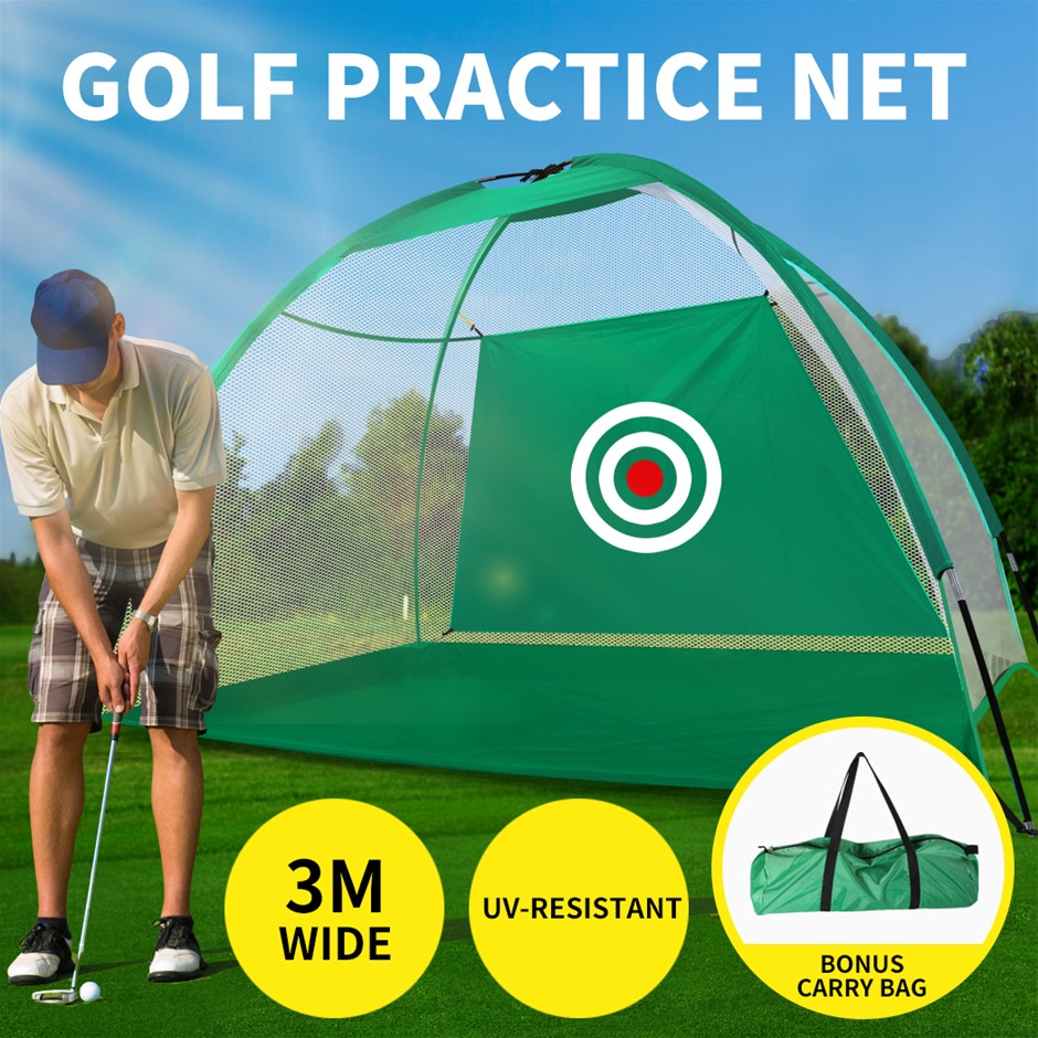 3M Golf Practice Net Hitting Nets Driving Netting Chipping Cage