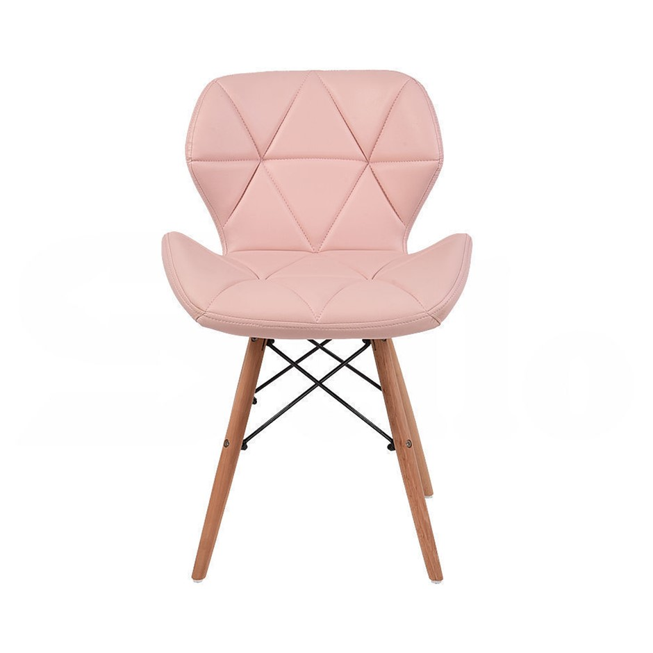 Levede 4x Retro Replica PU Leather Dining Chair Office Cafe Lounge Chairs