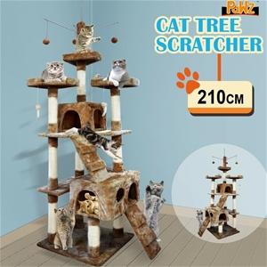 2.1M PaWz Pet Cat Tree Scratching Post S