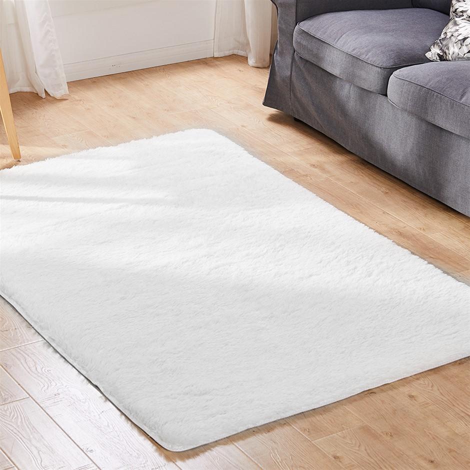 Designer Soft Shag Shaggy Floor Confetti Carpet 200x230cm