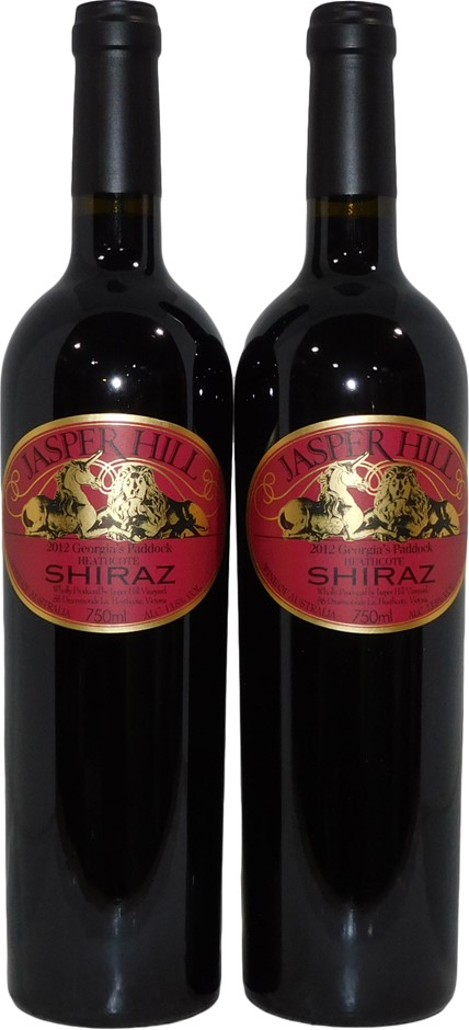 Jasper Hill Georgias Paddock Heathcote Shiraz 2012 (2x 750mL) VIC. Screwcap