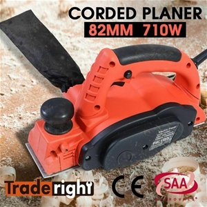 Traderight 710W Electric Wood Planer Doo