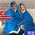 2 Pcs DreamZ Plush Fleece Sherpa Hoodie Sweatshirt Huggle Blanket Pajamas