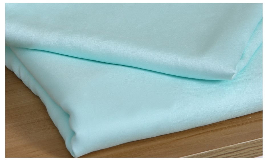 DreamZ 4 Pcs Natural Bamboo Cotton Bed Sheet Set in Size King Green
