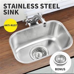 Kitchen Sink Stainless Steel Under/Topmo