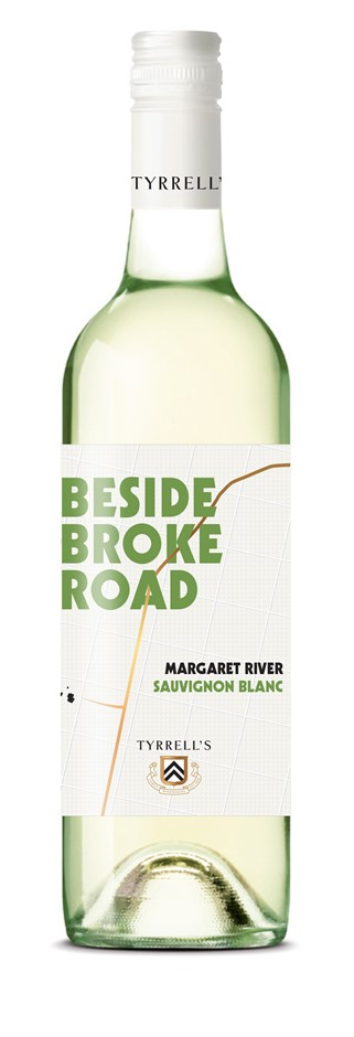 Tyrrell's `Beyond Broke Road` Sauvignon Blanc 2019 (6 x 750mL) WA