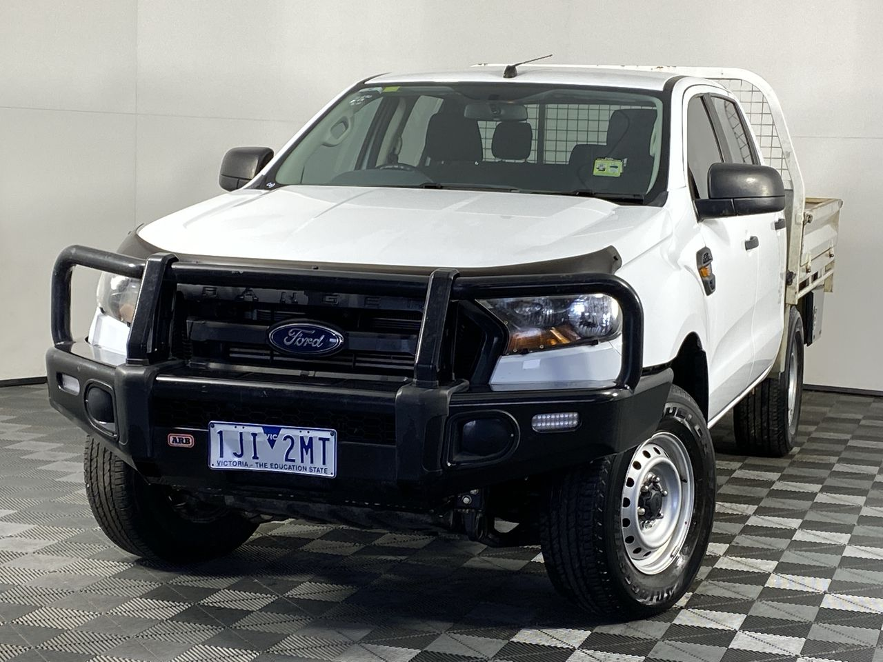2016 Ford Ranger XL 4X4 PX II Turbo Diesel Manual Crew Cab Chassis