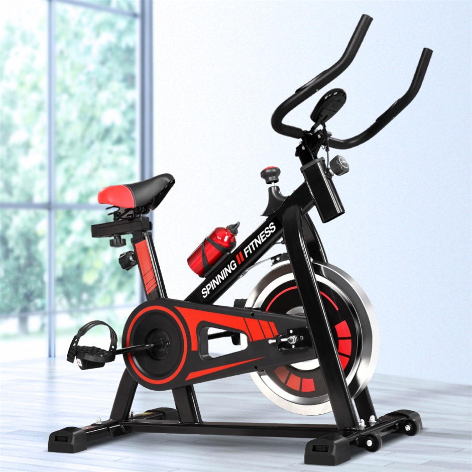 Spin Bike Exercise Bike Flywheel Fitness Home Commercial Workout Gym Holder