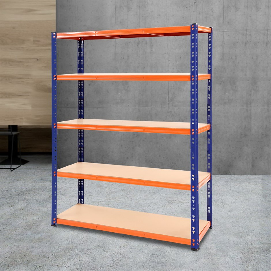 Giantz 1.2M Warehouse Racking Shelving Storage Shelf Garage Shelves Rack