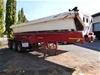 <p>1993 OSTERMEYER triaxle trailer Triaxle Side Tipper Trailer</p>
