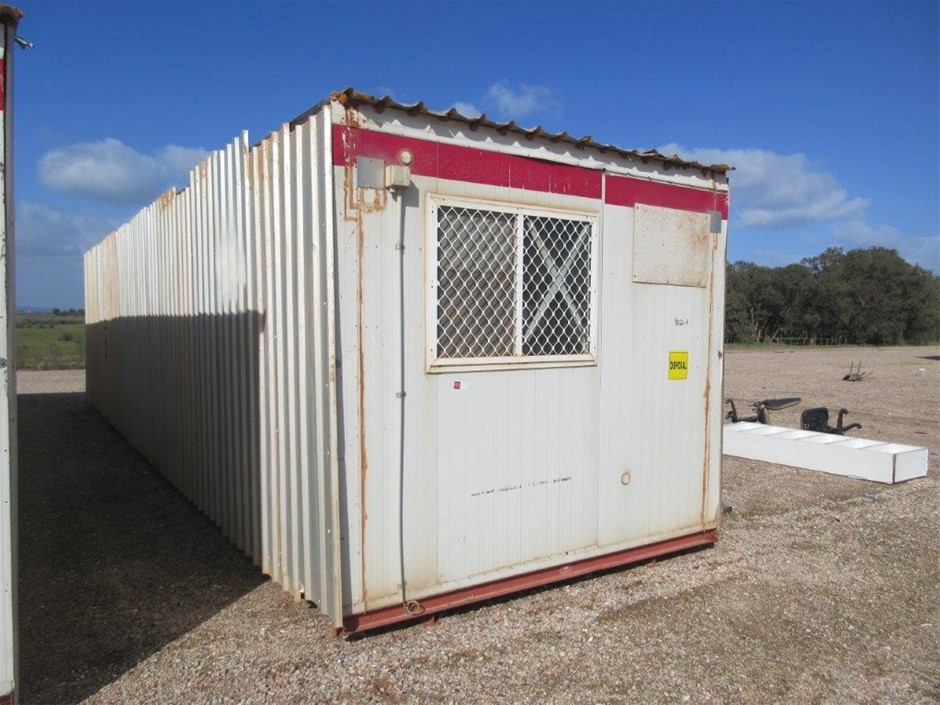 12m x 3m Portable Building Multi-Purpose Shell on Skids