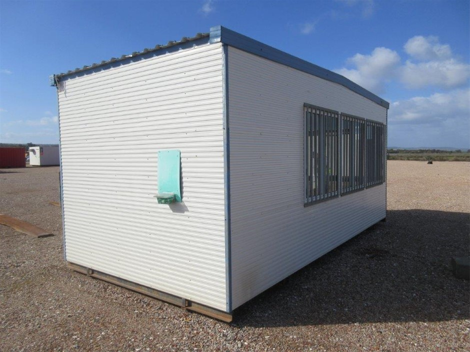 6m x 3m Portable Office and Store Room on Skids