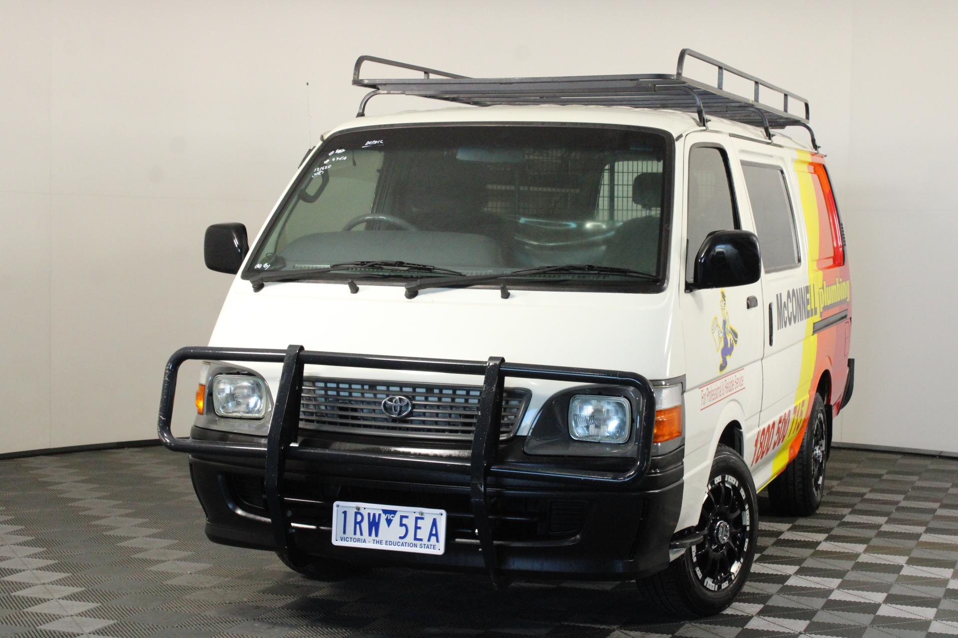 2004 Toyota Hiace RZH103R Manual Van