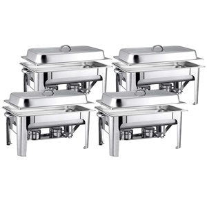 SOGA 4X Stainless Steel Chafing 9L Cater