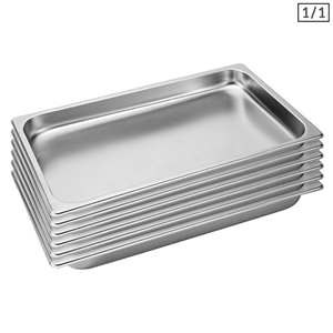 SOGA 6X Gastronorm GN Pan Full Size 1/1