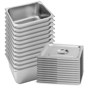 SOGA 12X Gastronorm GN Pan Full Size 1/2