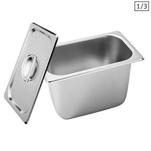 SOGA Gastronorm GN Pan Full Size 1/3 GN