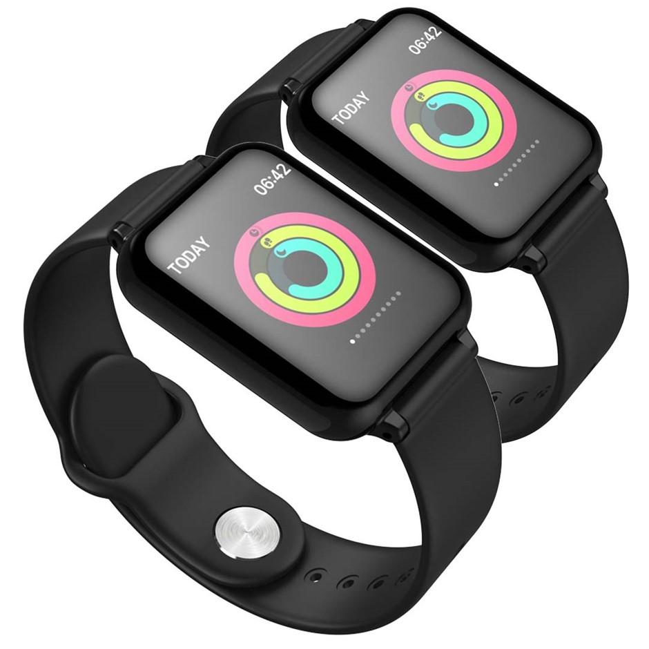 SOGA 2x Waterproof Fitness Smart Wrist Watch Heart Rate Monitor Tracker