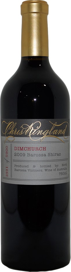 Chris Ringland Dimchurch Barossa Shiraz 2009 (1x 750mL), SA. Cork