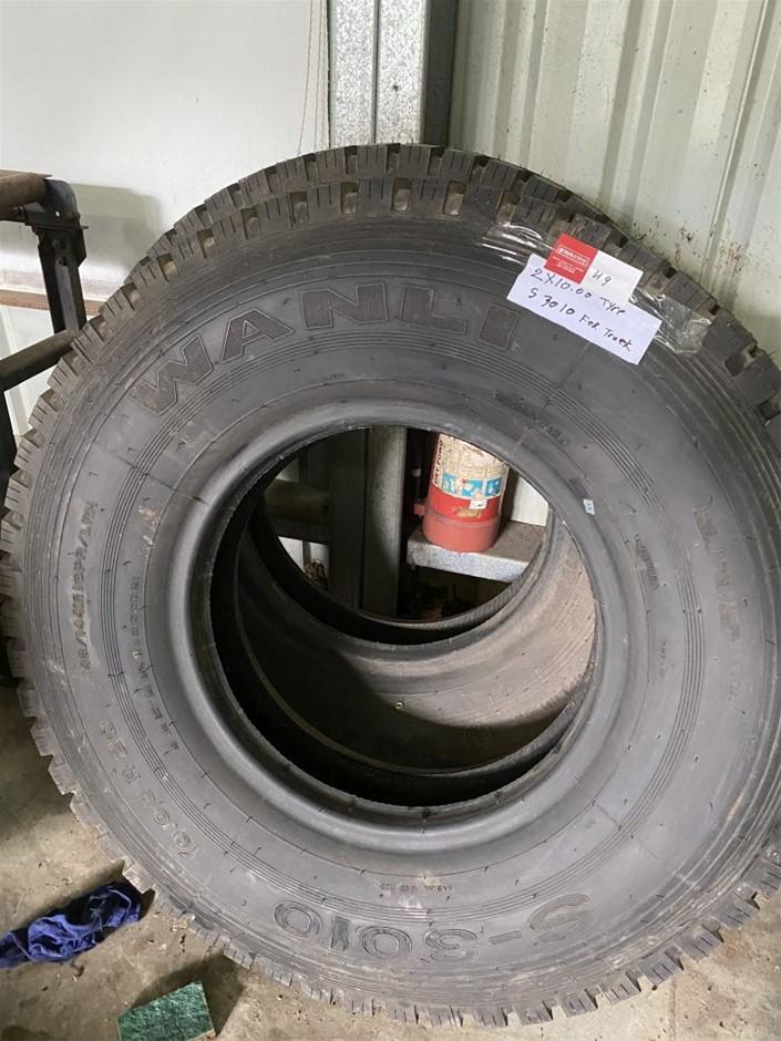 2 x 10.00 Truck Tyres S 3010 (273629-49)