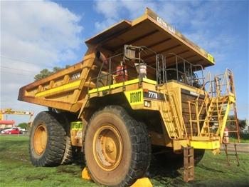 1996 Caterpillar 777D Rigid Dump Truck