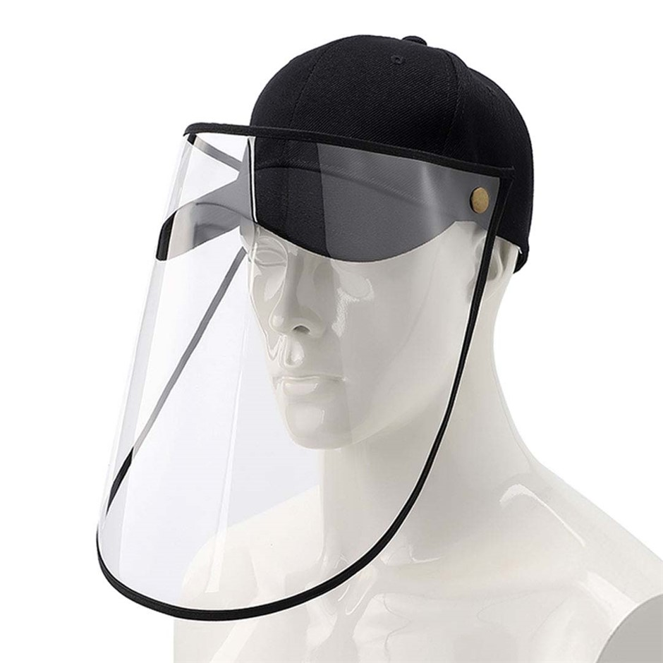 Outdoor Protection Hat Anti-Fog Pollution Cap Full Face HD Shield Cover