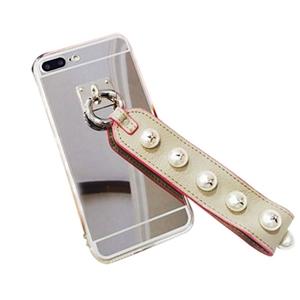 Luxury Fashionable Silver Mirror Back iP