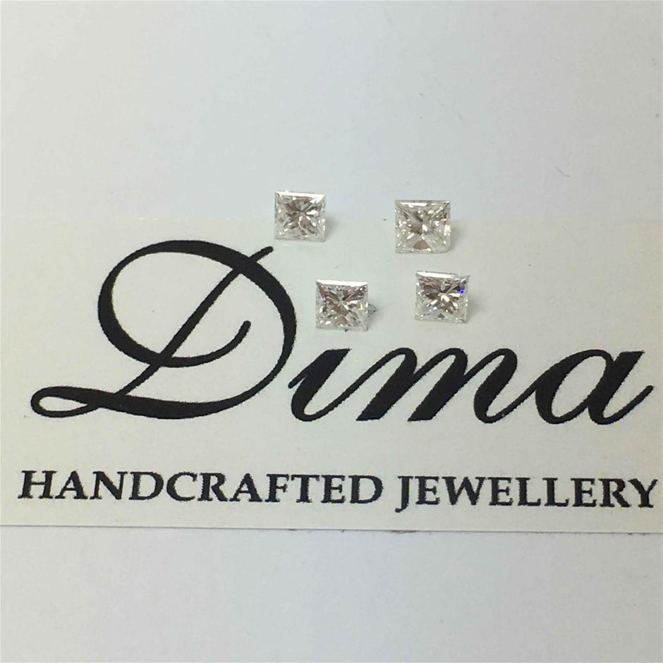 0.34ct Princes Diamond Four Stones