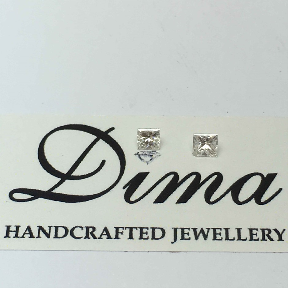 0.27ct Princes Diamond Two Stones