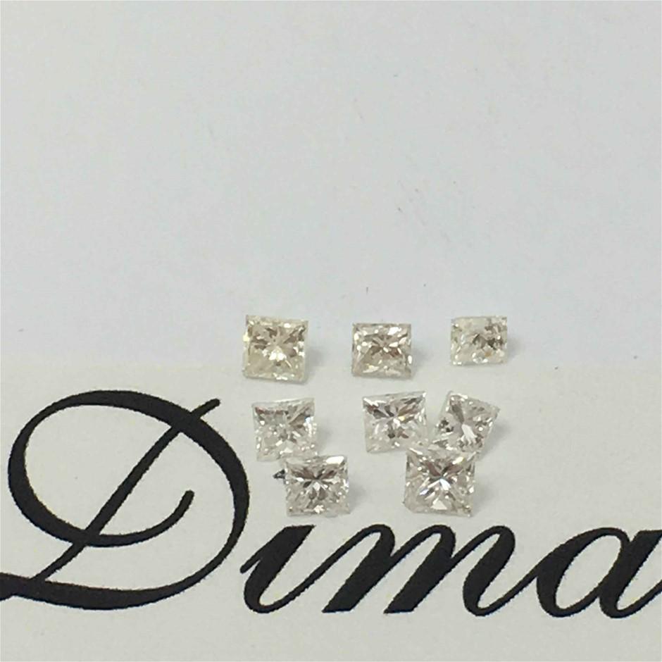 0.32ct Princes Diamond Eight Stones