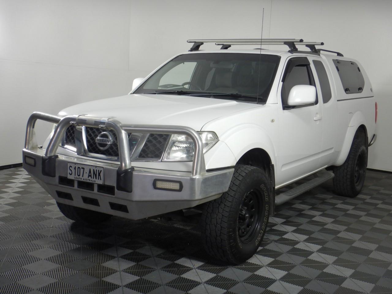 2011 Nissan Navara ST-X (4x4) D40 Turbo Diesel Automatic Ute