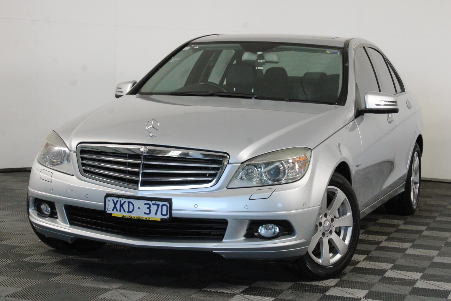 2009 Mercedes Benz C220 CDI Classic W204 Turbo Diesel Automatic Sedan