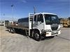 <p>2007 Nissan PKA265 6 x 2 Tray Body Truck</p>