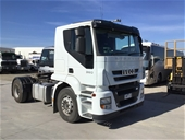 2010 Iveco Prime Mover and 2007 Nissan Tray Body Truck