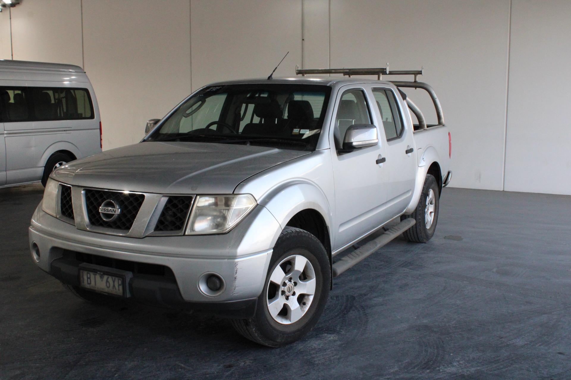 2009 Nissan Navara ST-X (4x4) D40 Turbo Diesel Automatic Dual Cab