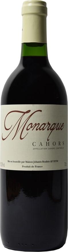 Monarque Malbec AOC Cahors Tradition Rouge NV (6x 750mL), Cork