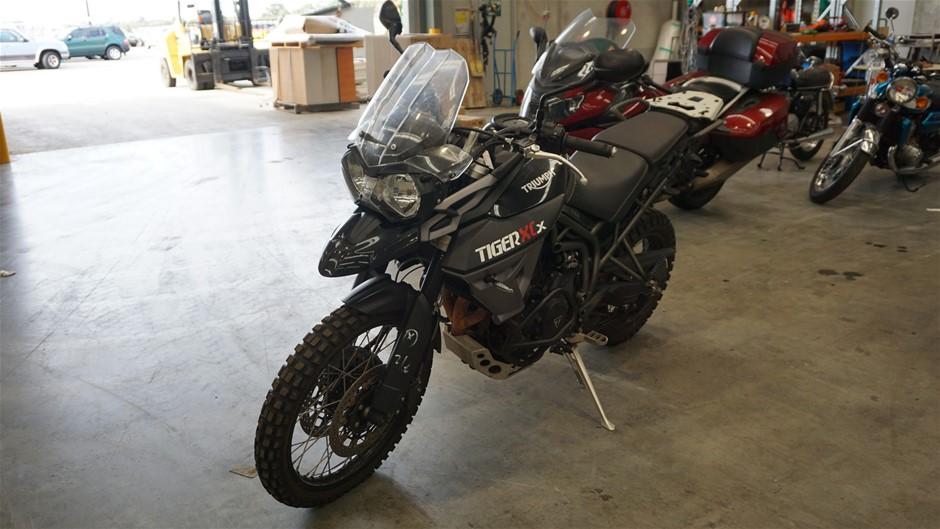 2015 Triumph Tiger XCx 800 Road Bike(WOVR-Statutory Write-Off)
