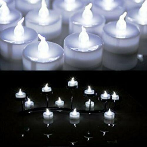 Box of 60pcs Flameless LED Tealight Candle Wedding Decoration