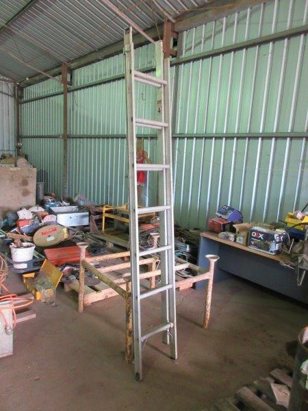 Aluminium Extendable Step Ladder