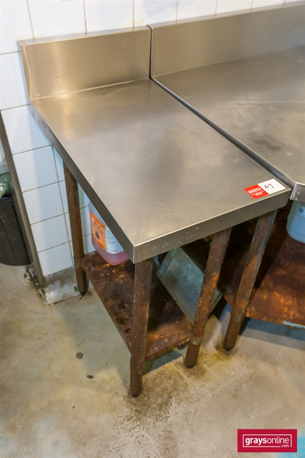 Brayco Stainless Steel Kitchen In-fill Bench