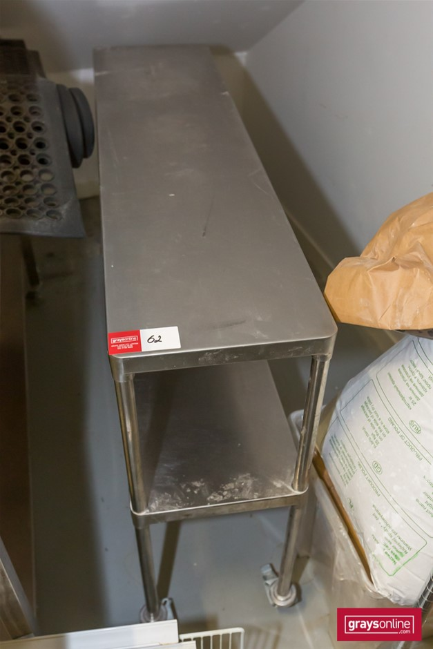 Brayco Stainless Steel Kitchen Mobile Bench