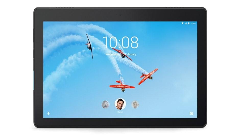 LENOVO Tab E10 Tablet 16GB, Black. Model TB-X104F. N.B. Has been used. Miss