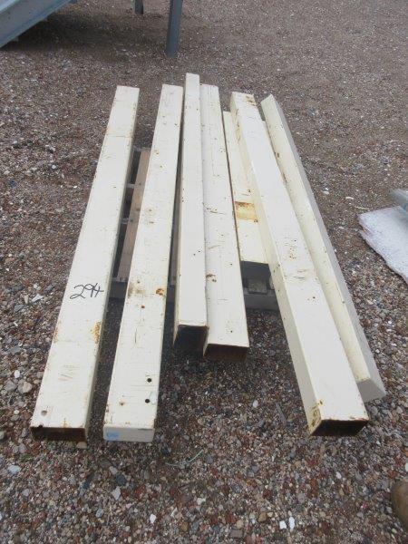 8 x Steel Posts of Various Lengths