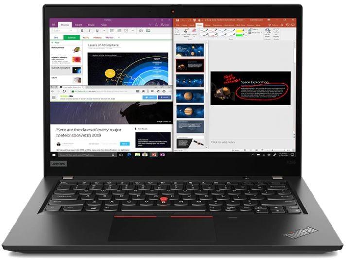 Lenovo ThinkPad X395 13.3-inch Notebook, Black