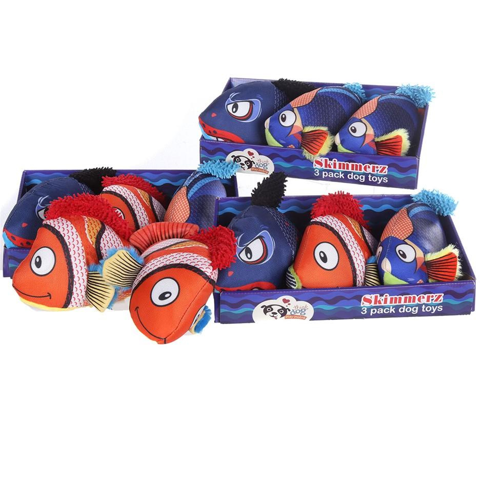 11 x THINK DOG Skimmerz Dog Toys. (SN:CC62817) (273792-629)