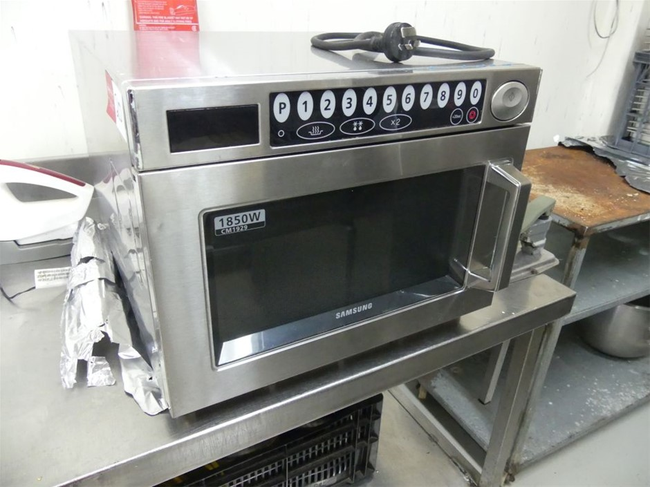 2015 Samsung CM1929 Commercial microwave oven