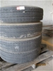 Michelin 10R 22.5 Tyres x 4