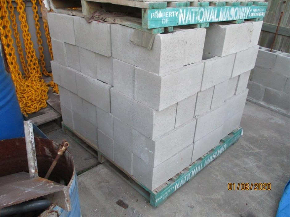 Pallet of Besser Blocks